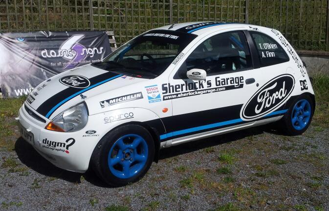 Ford Ka Rally Design